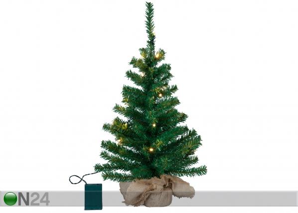 Kunstkuusk 55 cm LED tuledega AA-101276