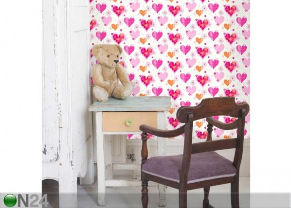 Pabertapeet Happy Hearts MW-101678