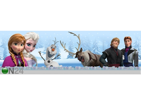 Seinakleebis Frozen and All ED-107748