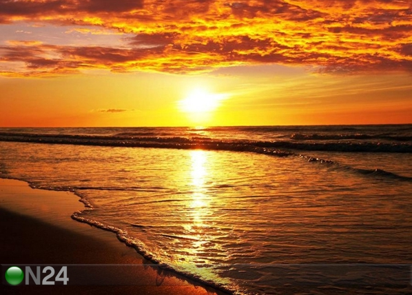 Fliis-fototapeet Ocean sunset 360x270 cm ED-109405