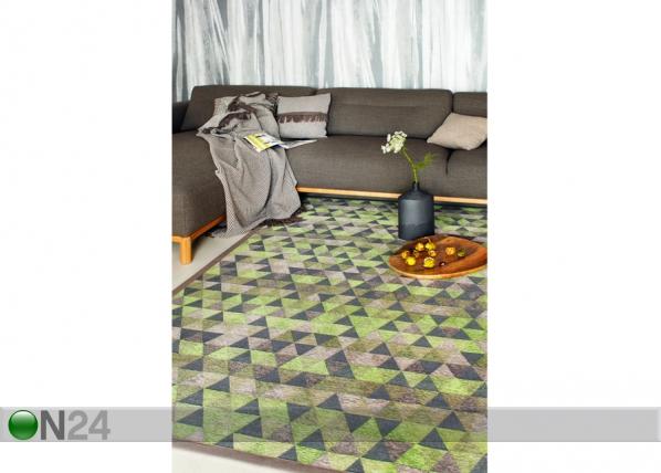 Narma newWeave® šenillvaip Luke green NA-109543