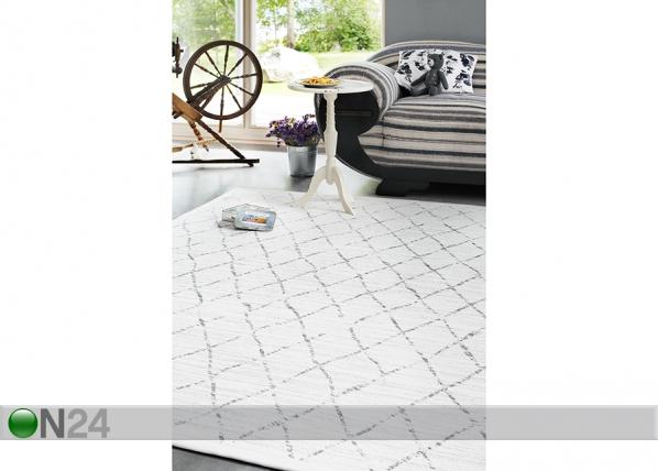 Narma newWeave® šenillvaip Vao white NA-109757