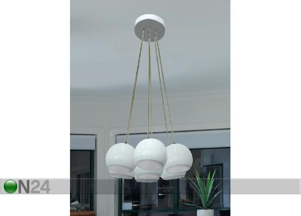 Rippvalgusti Spheres White A5-115817