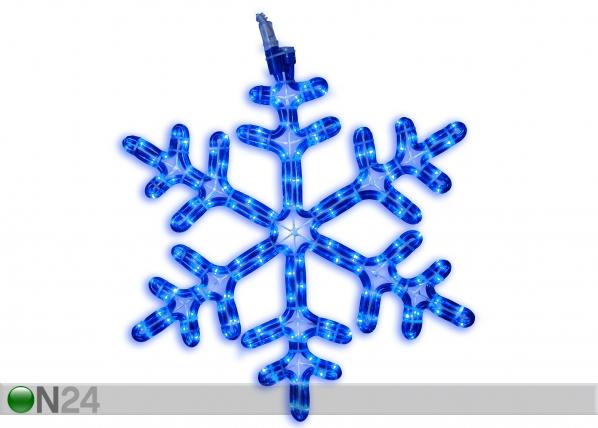 LED jõulukaunistus õue Snowflake 40cm AA-124866