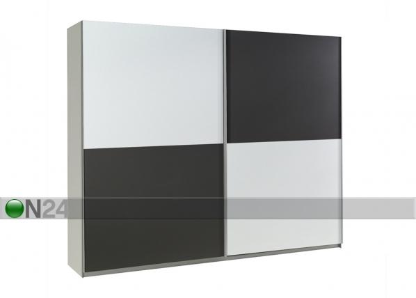 Lükandustega riidekapp Lux 244 cm TF-125737