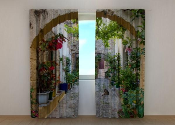 Pimendav kardin Arches in Flowers 240x220 cm ED-133718