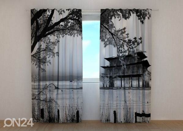 Pimendav kardin Chinese Landscape ED-134265