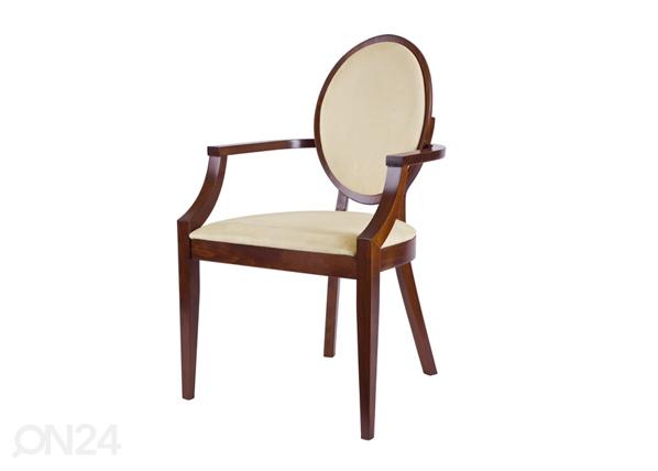 Puidust tool käetugedega TT-23322