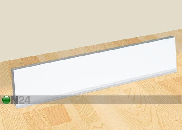 Valge küljesokkel köögikapile kõrgusega 85 cm AR-24333