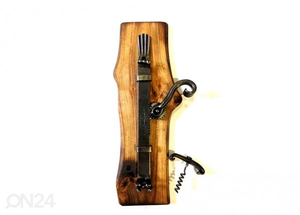 Sepistatud veinipudeli avaja seinale VE-25860