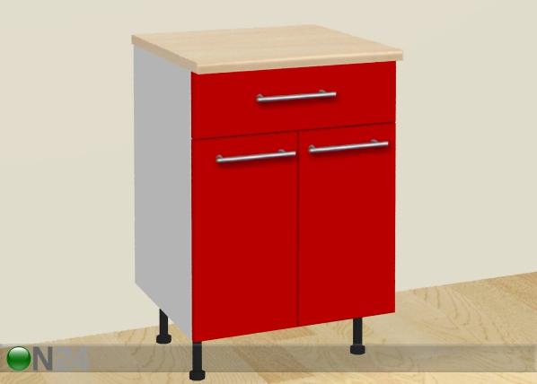 Kahe ukse ja sahtliga köögikapp AR-28778