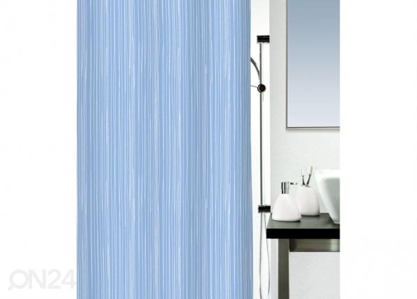 Tekstiilist vannikardin Raya sinine 180x200 cm UR-29520