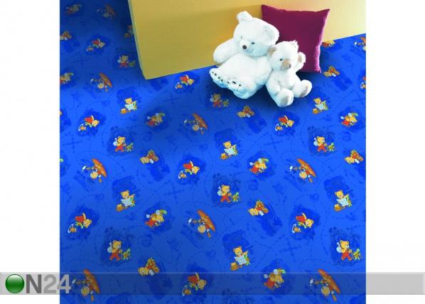 Vaip lastetuppa Travelling Teddy 133x133 cm AF-32794