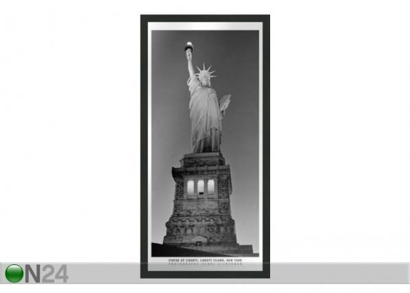 Pilt B&W New York Statue of Liberty 23x50 cm OG-37698