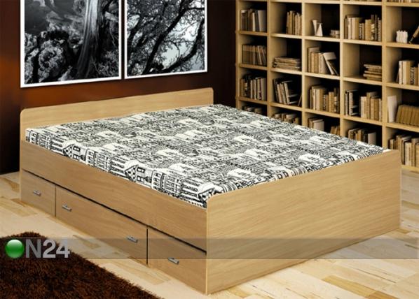 Voodi koos voodisahtlitega 140x200 cm TF-38082