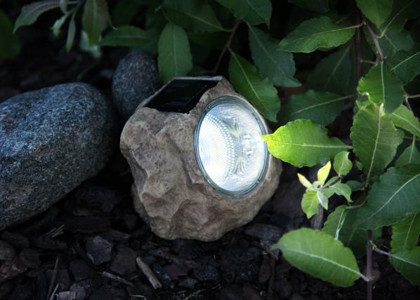 Päikesepaneeliga aiavalgusti Kivi LED AA-38698