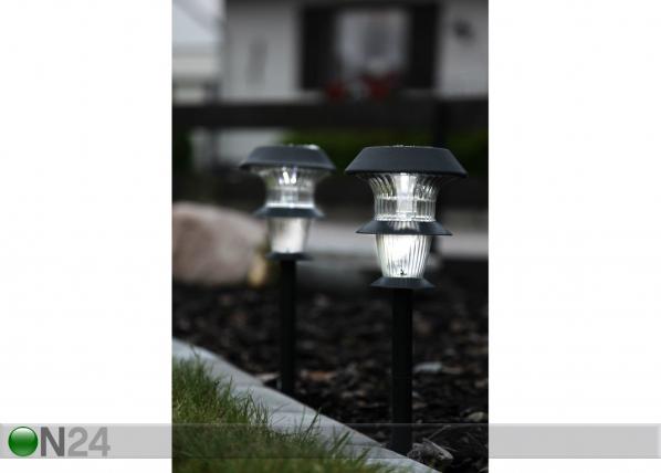 Päikesepaneeliga aiavalgustikomplekt 2 tk AA-38732