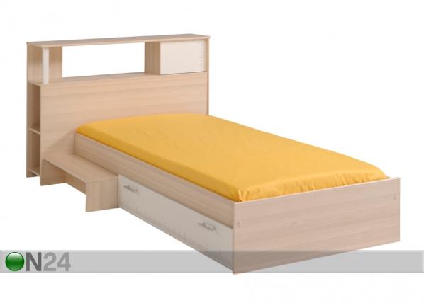 Voodi Charly 90x200 cm koos voodipeatsiga MA-39514