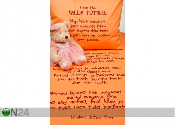 Beebide voodipesukomplekt tütrele VÄ-41916