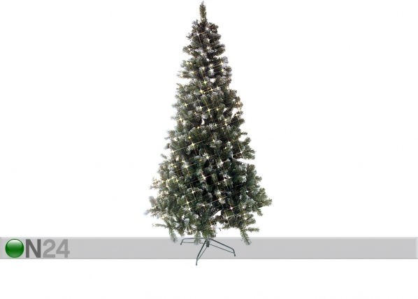 Kunstkuusk lumega ja LED tuledega Edmonton 225cm AA-43278