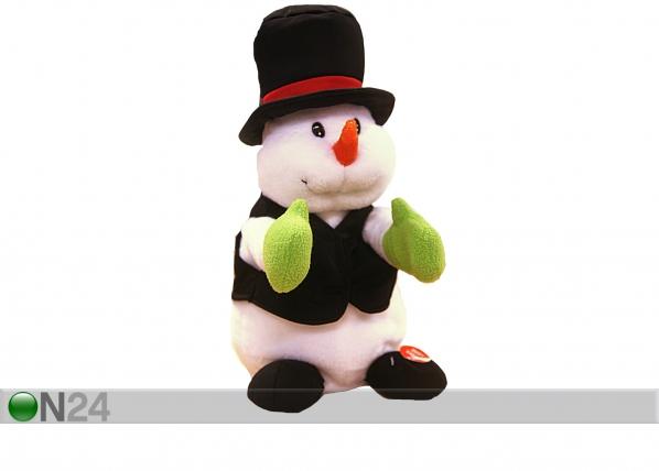 Jõuludekoratsioon plaksutav lumememm AA-43917