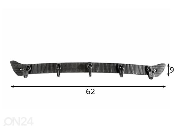 Sepistatud riidenagi VE-49644