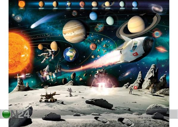 Fototapeet Kosmoseseiklus 244x305 cm GC-53950