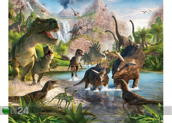 Fototapeet Dinosaurused 244x305 cm GC-53955