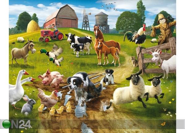 Fototapeet Lõbus farm 244x305 cm GC-53958