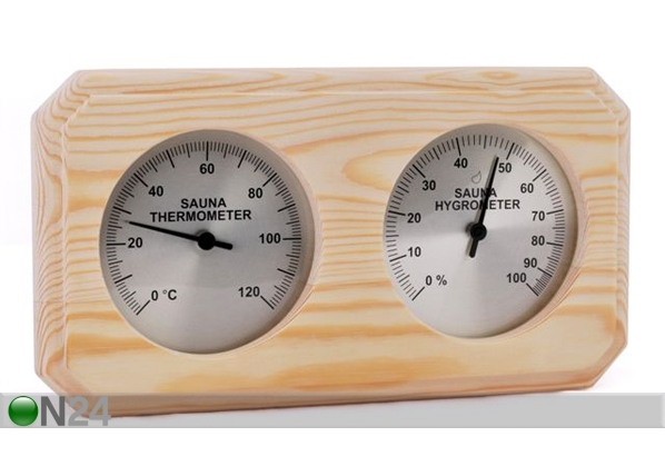 Saunatermomeeter ja -hügromeeter RH-54169