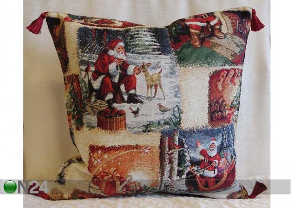 Gobeläänkangast jõuluteemaline dekoratiivpadi Natal TG-56077