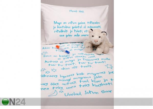 Beebide voodipesukomplekt poisile + tekstiilimarker VÄ-56479