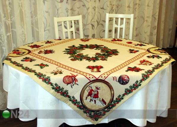 Gobeläänkangast jõululaudlina Holly 100x100cm TG-56815