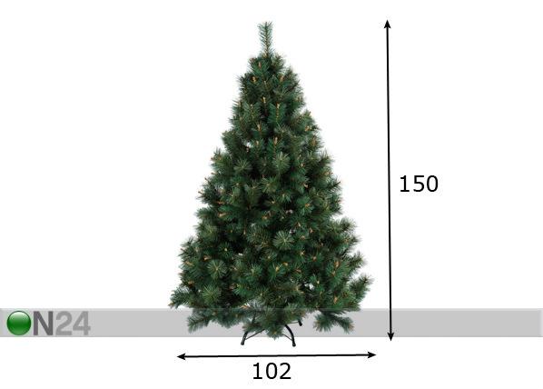 Kunstjõulupuu mänd 150cm AA-57381