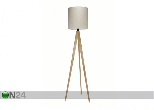 Põrandavalgusti Artist naturaalne kask ES-58779