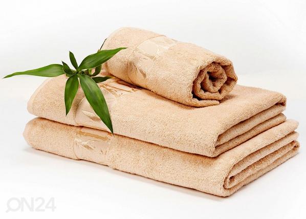 Bambusrätikute komplekt beež AN-58954