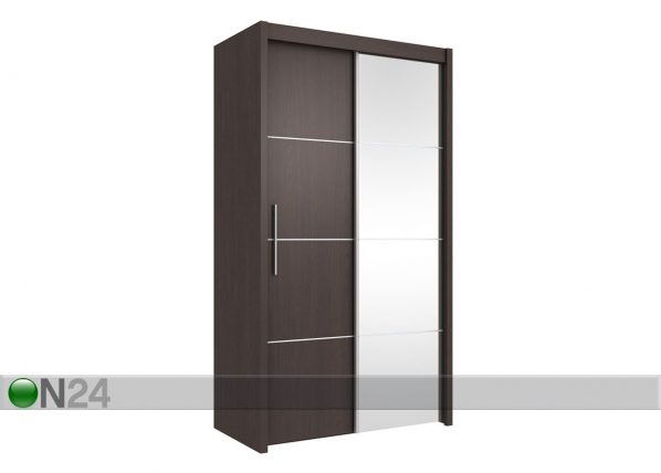 Lükandustega riidekapp Inova 120cm RM-60196