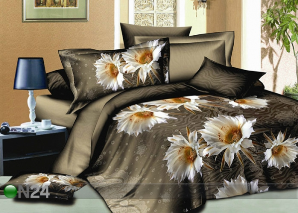 3D voodipesukomplekt Lilled 220x200 cm AB-60295