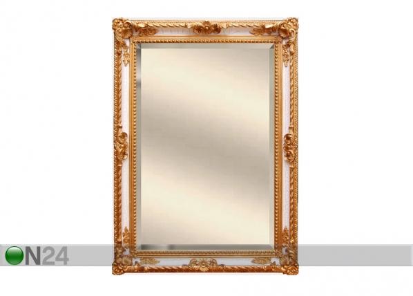 Peegel Palermo white crackle 80x110cm NN-64497