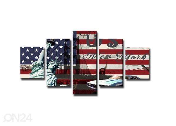 Viieosaline seinapilt USA ED-65538