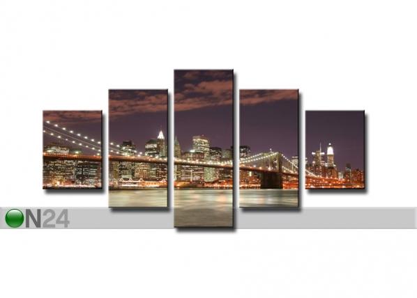Viieosaline seinapilt New York ED-65552