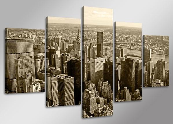 Viieosaline seinapilt New York ED-65594