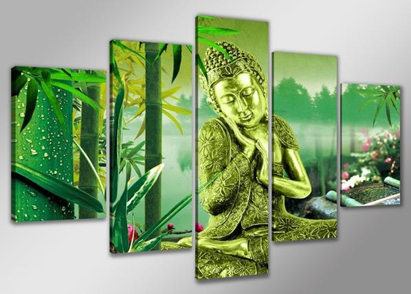 Viieosaline seinapilt Buddha ED-65600