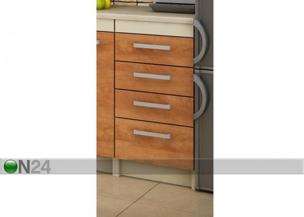 Alumine sahtlitega köögikapp 40 cm TF-65683