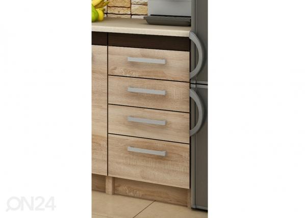 Alumine sahtlitega köögikapp 40 cm TF-65785