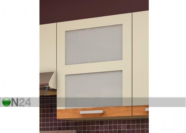 Ülemine klaasuksega köögikapp 60 cm TF-65828