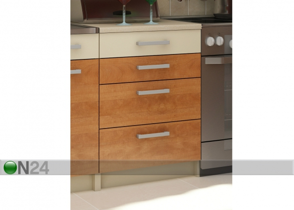 Alumine sahtlitega köögikapp 60 cm TF-65836