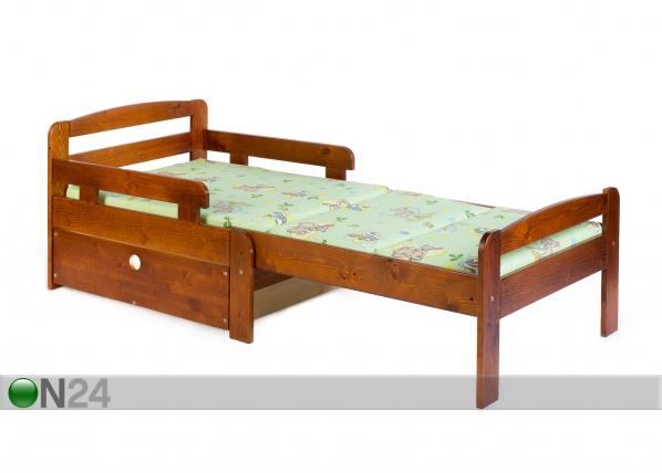 Pikendatav lastevoodi Kiku + voodikast VM-65886
