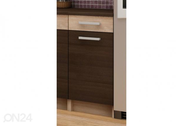 Alumine ühe sahtliga köögikapp 40 cm TF-65952