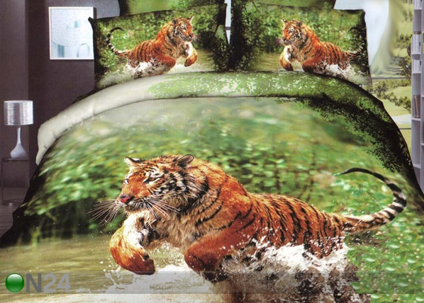 3D voodipesukomplekt Tiiger vees TX-66531